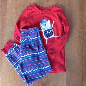5 for $35. Gymboree winter pjs - size 5.